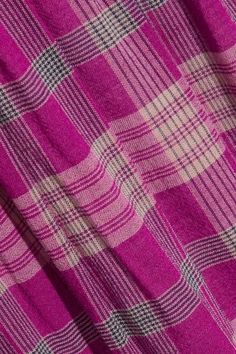 APIECE APART - La Ellisa Printed Voile Skirt - Magenta - US10