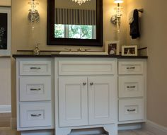 Master bath vanity kensington Master Bath Vanity, Bath Vanities, Custom Cabinets, Bathroom Cabinets, Beautiful Bathrooms, Double Vanity, Custom Closets, Bathroom Vanity Cabinets, Bath Accessories