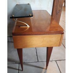 Chevet Tripode Gris Vintage Design Chevet Tripode Gris Design