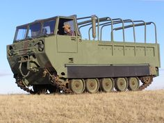 M548 tracked cargo carrier, US Army.