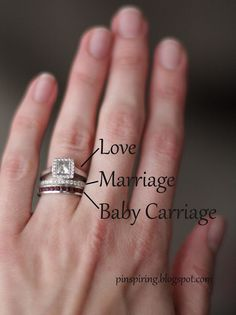 fun idea for stackable rings. alternate birth stones on one ring for multiple kids??