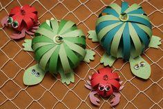 Sea creatures paper crafts
