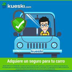 ¡No conduzcas sin seguro! Por querer ahorrar, a la larga más vas a gastar. #KueskiTips #Seguro #Autos