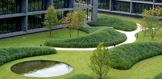 Ernsting& Family Campus in Coesfeld Germany by Wirtz International Landscape Architects