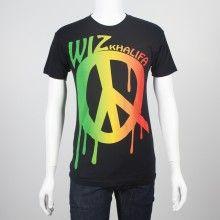 Wiz Khalifa - Rasta Peace T-Shirt with Tour dates