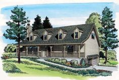 Country   House Plan 20222