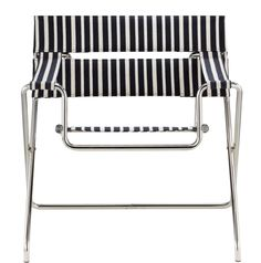 The Marcel Breuer Folding Armchair was first presented to the public in 1927 -- here's Tecta's great update on this famed design.
