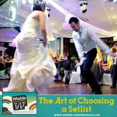Ever wondered how a band choose their setlist for a wedding or party? Read on...