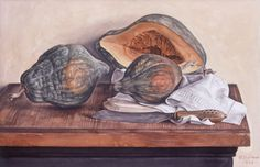 """watercolor on paper  13 3/4 x 21""""  1990"""