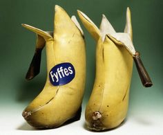 Billy Connolly's banana boots, currently residing in the People's Palace, Glasgow.