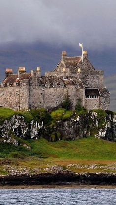 Duart Castle, Isle of Mull, Scotland dates to the 13th century and is the seat of Clan MacLean. <3