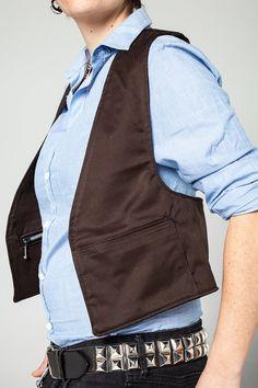 fdd60060101 Negro chaleco - Streetwear chaleco vestido funda bolsa algodón todos los  días utilice chaleco / funda bolso / chaleco de Festival