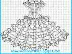 Best 12 33 Ideas for crochet doll dress barbie patterns – SkillOfKing. Débardeurs Au Crochet, Stitch Crochet, Crochet Girls, Crochet Doilies, Crochet Baby, Crochet Barbie Patterns, Crochet Doll Dress, Barbie Clothes Patterns, Crochet Barbie Clothes