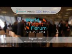 World Talent Forum 2014 - Event Outlook