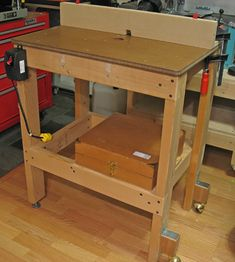 Heartwood » Blog Archive » The Router table – How to keep it simple, part 1