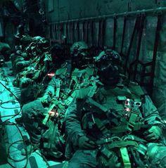 Marine Raiders night jump.