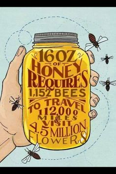 For a honey jar label!