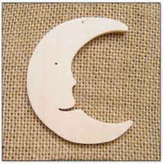 Sujet bois lune