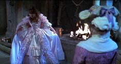 The Slipper and the Rose - Cinderella sees her ball gown for the first time.