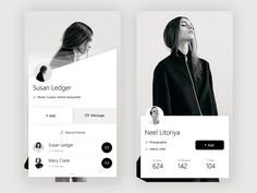 Inspirational UI Design 16 - UltraLinx UI and UX design plays a huge role in whether people adopt your software, app or website. You might have the best idea ever for a piece of software or app, but Ios App Design, Mobile App Design, Web Mobile, Web Ui Design, Mobile App Ui, Page Design, Design Design, Flat Design, Dashboard Design