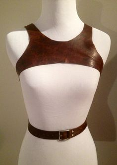 $150 Leather Harness Criss Cross or Straight Back by NorthandHudson