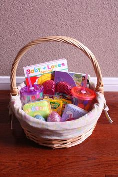 101 easter basket ideas for babies and toddlers that arent candy toddler no candy easter basket ideas negle Image collections