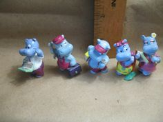 KINDER SURPRISE Happy Hippo Company at Work   by ValueARTifacts, $12.50