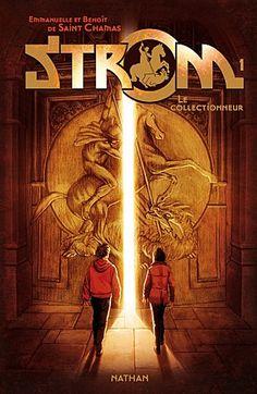 """""""Strom"""" : c'est l'histoire de deux jumeaux qui vivent seuls avec leur parrain et qui vont découvrir une force surnaturelle : le Strom. Il y a beaucoup de suspense."""