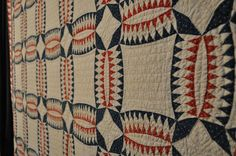 """Love! """"This looks similar to a quilt I've seen named Chief's Bonnet. Not quite positive though."""""""