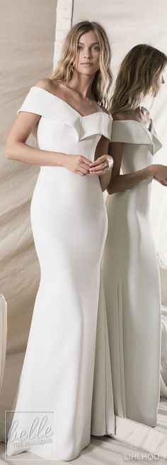 Wedding Dresses by Lihi Hod Fall 2018 Couture Bridal Collection - Olivia #WeddingDress
