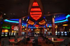 Interior Casino Decor Design | Casino Room Décor | Gaming Floor Décor | Slot Area Design | Little Creek Casino
