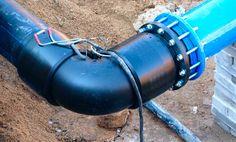 Как соединить ПНД трубу с металлической