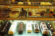 vitrine de doces