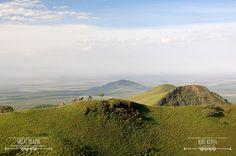 Breathtaking views of the Chyulu Hills | Ride Kenya Safaris
