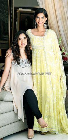 Sonam Kapoor's yellow suit
