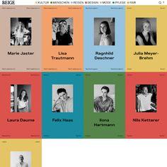 Typewolf Site of the Day for August Webdesign Inspiration, Typography Inspiration, Magazine Design, Design Bauhaus, Buch Design, Identity, Online Magazine, Plakat Design, Yearbook Design