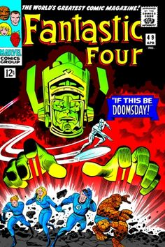 Jack Kirby. Other than the Fantastic Four, Jack Kirby has also created their mortal enemies till today.