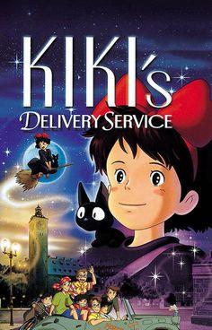 Kiki's Delivery Service Hayao Miyazaki Movie Poster 11x17 – BananaRoad