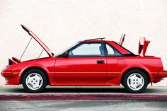 1985 1989 Toyota MR2 Side