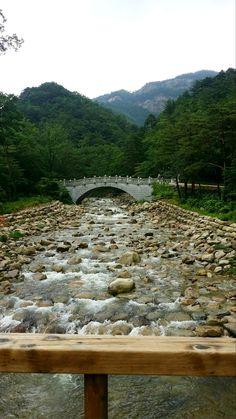 Mount Seorak River, South Korea