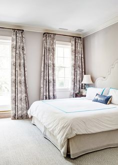 Tour The Most Elegant Townhouse You May Ever See Via Domainehome Neutral Bedroom With Beautiful