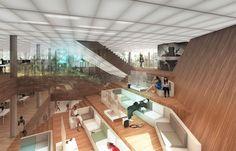 REX architecture activision headquarters designboom