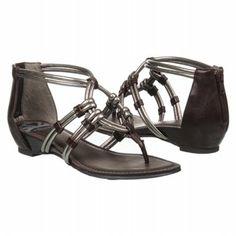 FERGALICIOUS IRRATIONAL Shoes (Brown/Silver) - Women's Shoes - 6.0 M