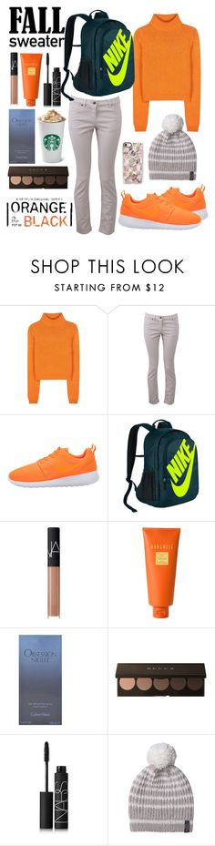 """OITNB 💻"" by breeyvonne ❤ liked on Polyvore featuring Acne Studios, Brunello Cucinelli, NIKE, NARS Cosmetics, Borghese, Calvin Klein, M.Patmos and Casetify"