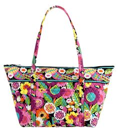 Vera Bradley Miller Bag in Va Va Bloom ** Read more reviews of the product by visiting the link on the image. (This is an Amazon Affiliate link and I receive a commission for the sales)