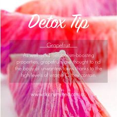 Detox Tip // In need of a detox? Get your teatox on with 10% off using our discount code 'PINTEREST10' at www.skinnymetea.com.au