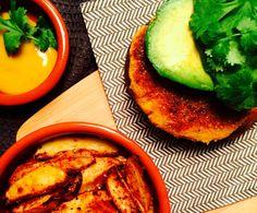 Gulrotburger med mais og koriander - Green Bonanza