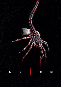 Sci Fi Movies, Scary Movies, Horror Movies, Alien Film, Alien 1979, Giger Alien, Hr Giger, Arte Alien, Alien Art