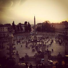 Roma Piazza del Popolo