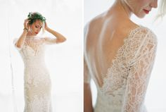 Watters wedding dress  | Anna Be Stylebook by Tory Lea Photography | http://burnettsboards.com/2013/11/anna-be-style-book/